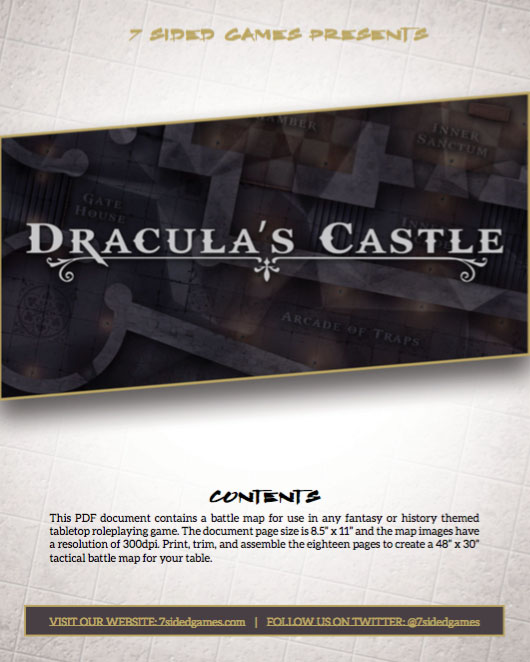 Dracula's Castle – The Fortress of the Prince of Vampires - 7 Sided Games