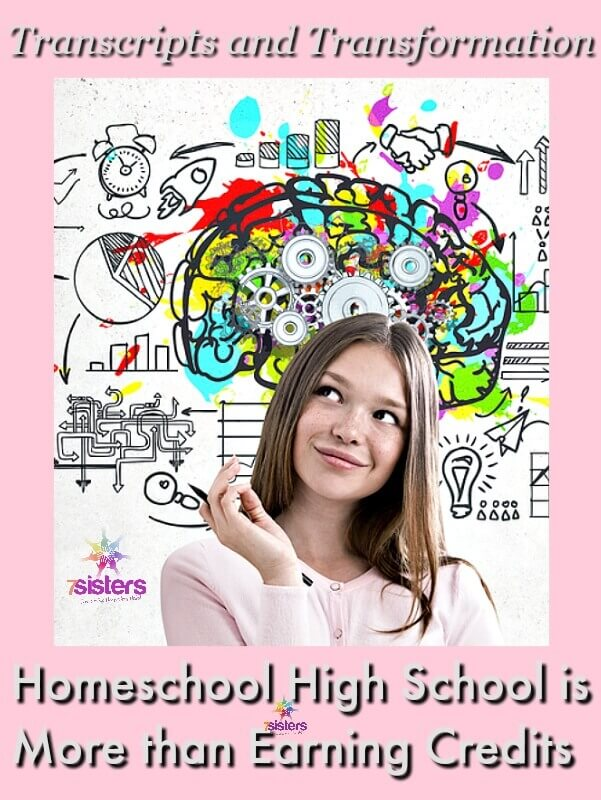 Homeschool High School is More than Earning Credits: Transcripts and Transformation