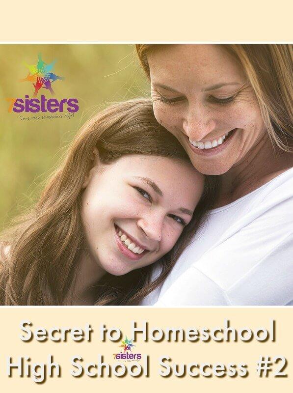 Secret to Homeschool High School Success #2