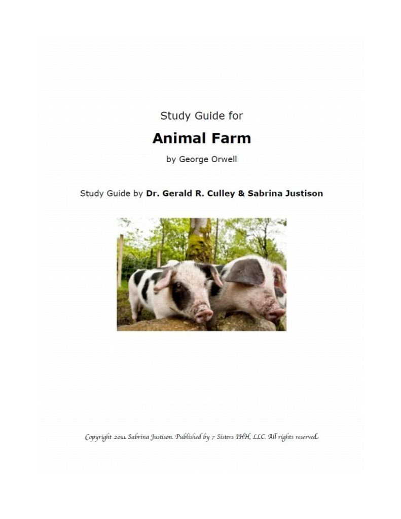 Excerpt from Animal Farm Study Guide