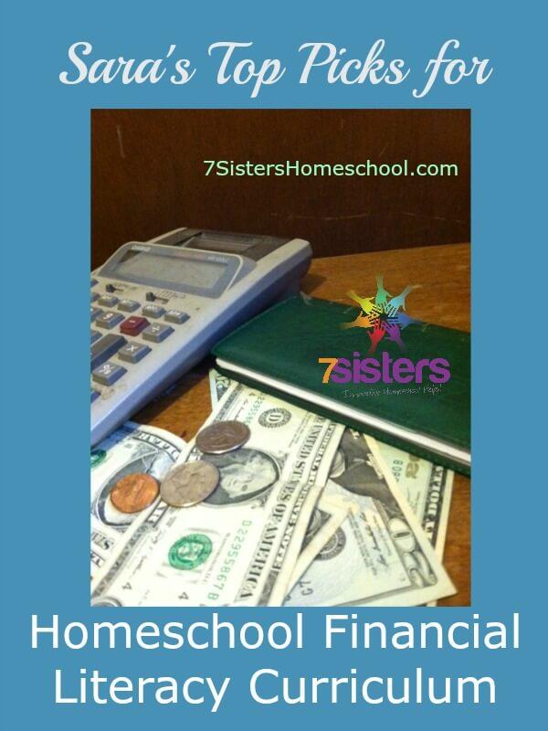 Sara's Top Picks for Homeschool Financial Literacy Courses 7SistersHomeschool.com