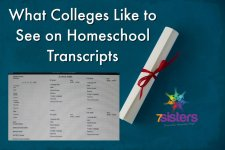 What Colleges Like to See on Homeschool Transcripts