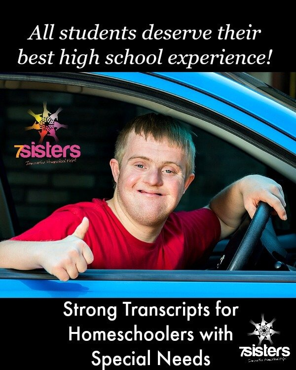Transcripts for Homeschoolers with Special Needs