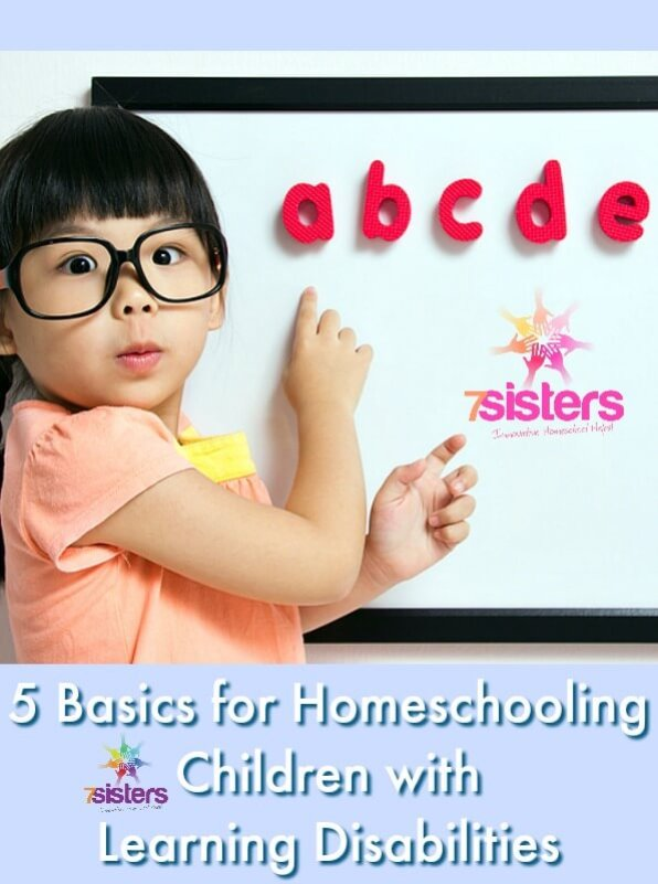Basics for Homeschooling Children with Learning Disabilities