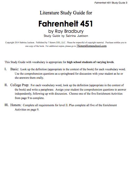 Excerpt from Fahrenheit 451