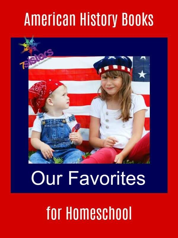 American History Books for Homeschool