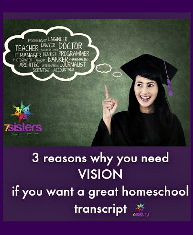 Homeschool high school vision