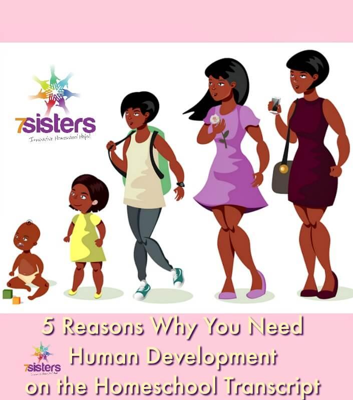 Human Development on the Homeschool Transcript