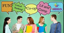How to Teach Literature and Composition in Homeschool Co-op. Teens need a good exposure to build their college-prep and life skills. Here are ways to handle Literature and Composition in homeschool high school co-op. #HomeschoolHighSchool #LanguageArts #LiteratureAndComposition