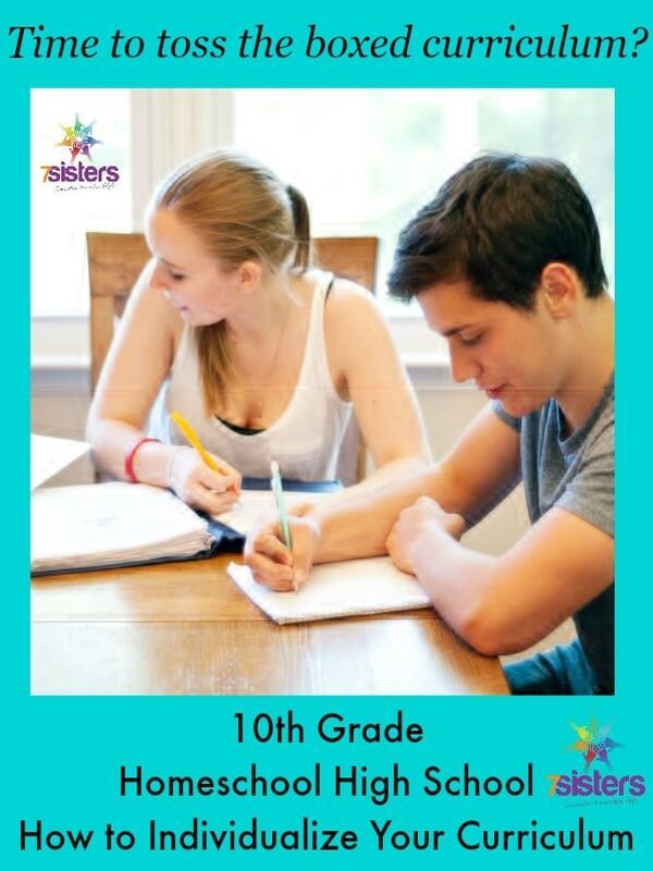 10th Grade Homeschool High School- How to Individualize Your Curriculum