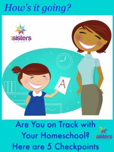 Are You on Track with Your Homeschool? Here are 5 Checkpoints from 7 Sisters Homeschool