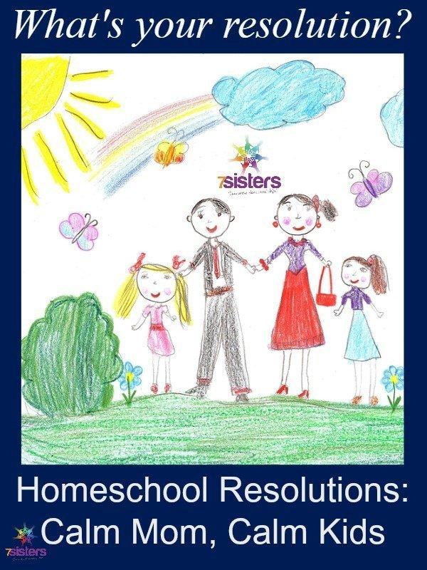 Homeschool Resolutions: Calm Mom, Calm Kids