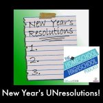 HSHSP New Years Unresolutions