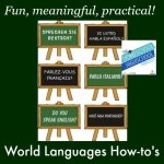 World Languages on Homeschool Transcript