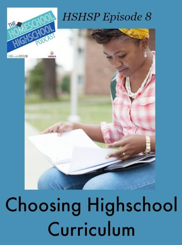 Choosing Highschool Curriculum