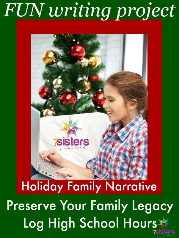 Family Legacy Stories: A Holiday Writing Project That's Actually FUN!