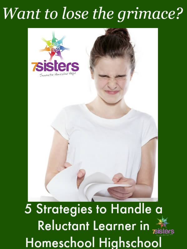 5 Strategies to Handle a Reluctant Learner in Homeschool High School
