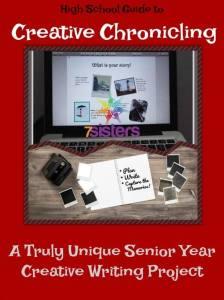 Creative Chronicling A Truly Memorable Senior Year Writing Project 7SistersHomeschool.com