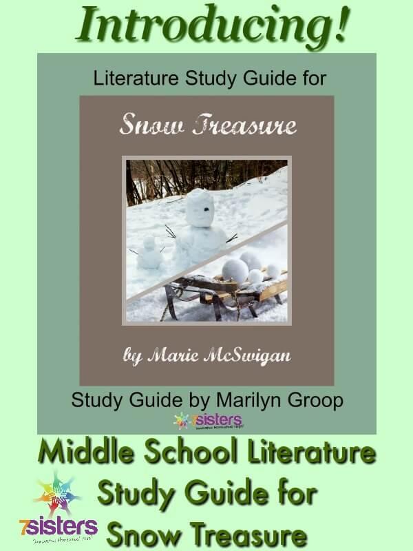 Middle School Literature Study Guide: Snow Treasure