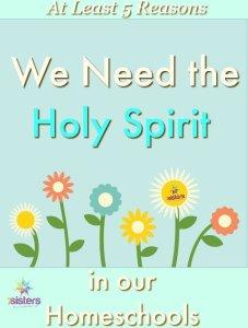 Authoritative Guide on How to Homeschool High School holy spirit