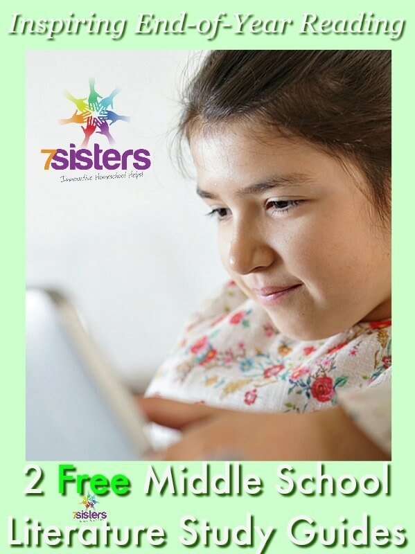Free Middle School Literature Guides