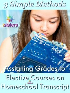 Electives for Homeschool High School 3 Ways to Assign Grades to Elective Courses on Homeschool Transcript