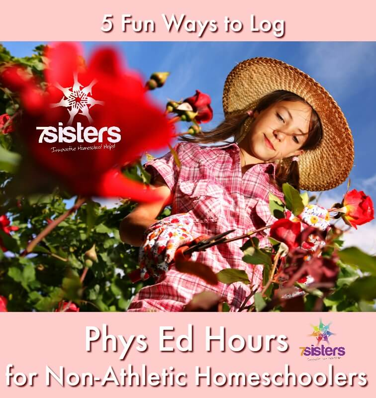 5 Fun Ways to Log Physical Education Hours for Non-Athletic Homeschoolers