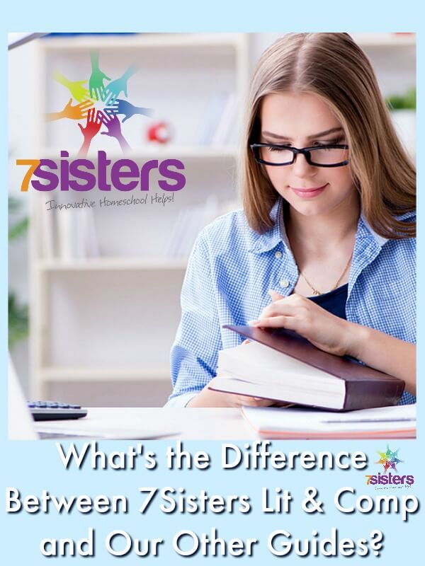 What's the Difference Between 7Sisters Lit & Comp vs Our Other Guides? homeschool high school