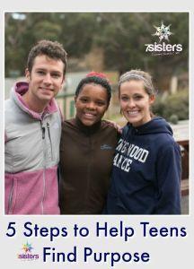 Homeschool Career Exploration: 5 Steps to Help Teens Find Purpose 7SistersHomeschool.com Finding purpose is part of comprehensive Career Exploration course.