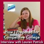 HSHSP Ep 167: Preparing for a Competitive College, Interview with Lauren Patrick