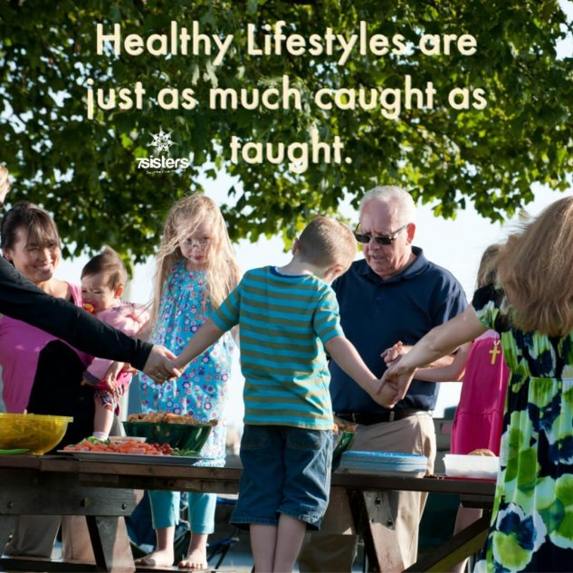 Healthy lifestyles are just as much caught as taught. If we want to get teens motived for self-care, we would be wise to help them gain skills in all those areas...and to WANT to have skills in each of those areas.