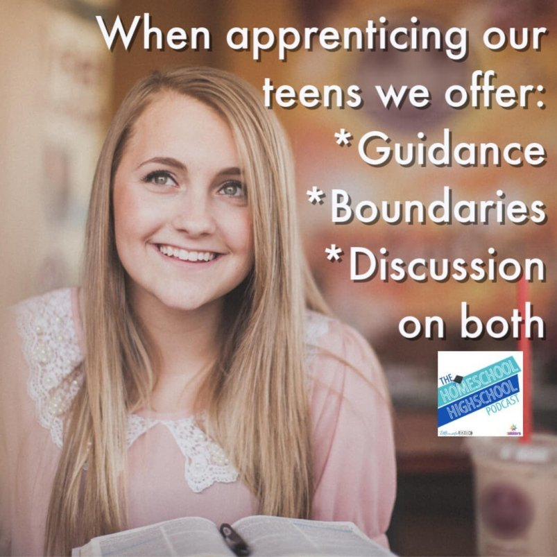 Have you noticed that parenting teenagers is different than parenting young children? For homeschool high schoolers, we offer: Guidance Boundaries Discussion on both