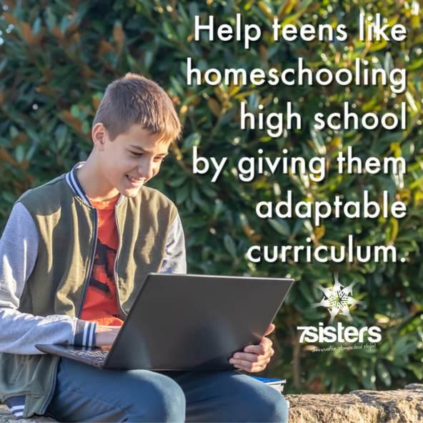 Help teens like high school by giving them adaptable curriculum.
