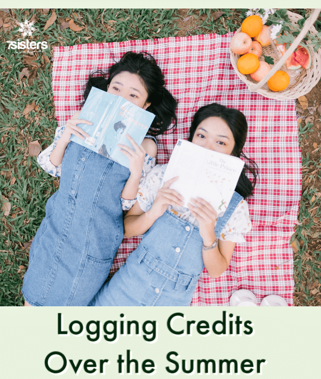 Logging Credits Over the Summer. Formal schooling may be done for the summer but your teens can still be logging credit hours for their transcripts.