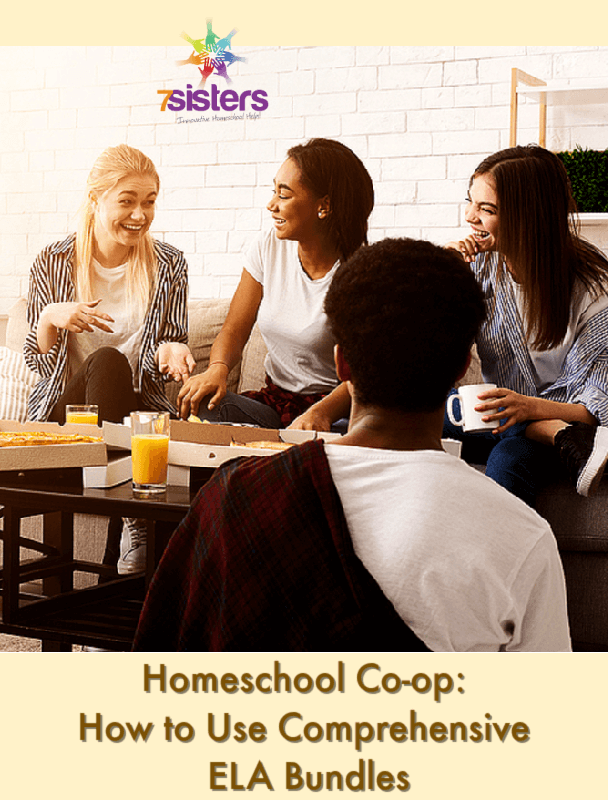 Homeschool Co-op: How to Use Comprehensive ELA Bundles