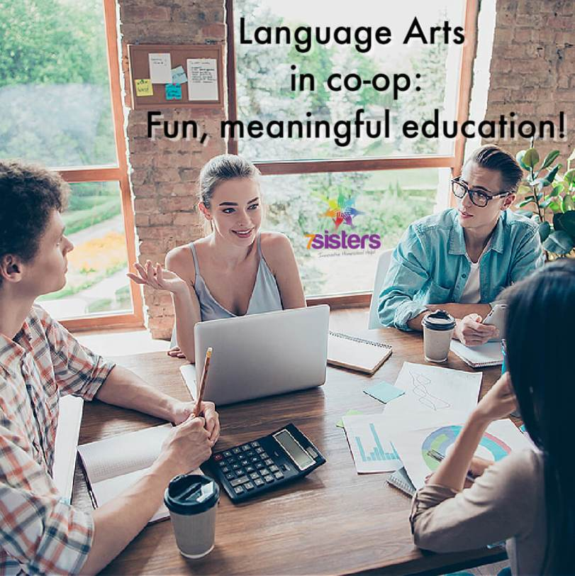 Language Arts in co-op: Fun, meaningful education!