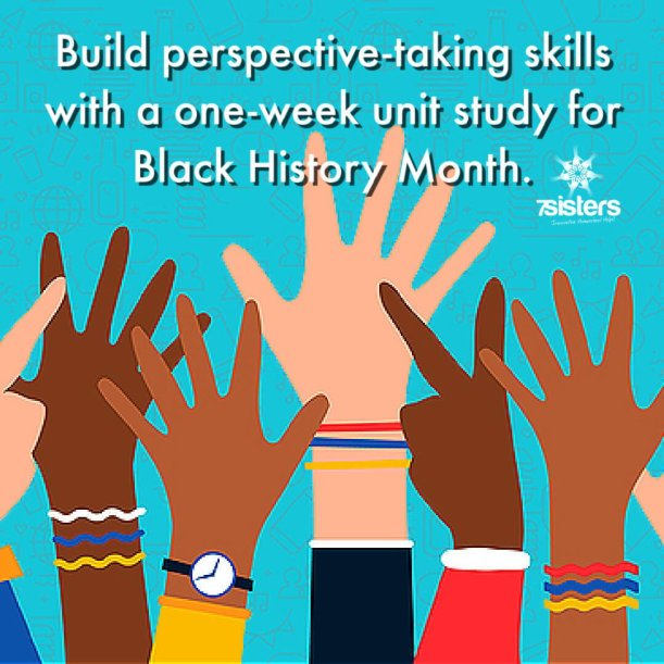 Build perspective-taking skills with a one-week unit study for Black History Month.