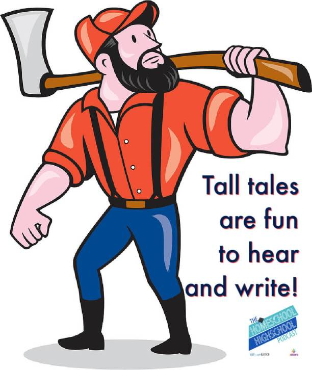 Tall tales are fun to hear and write