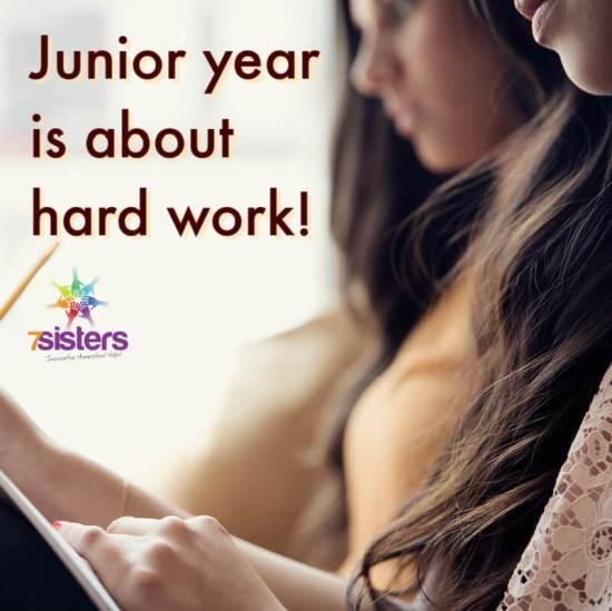 Junior year is about hard work. 7SistersHomeschool.com can help.