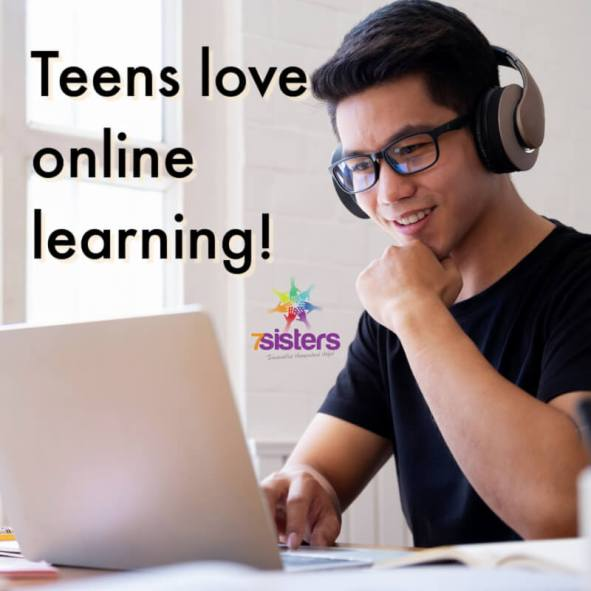 Teens love online learning
