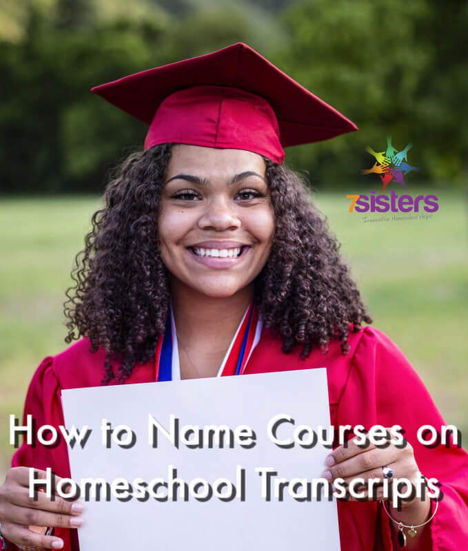 How to Name Courses on Homeschool Transcripts