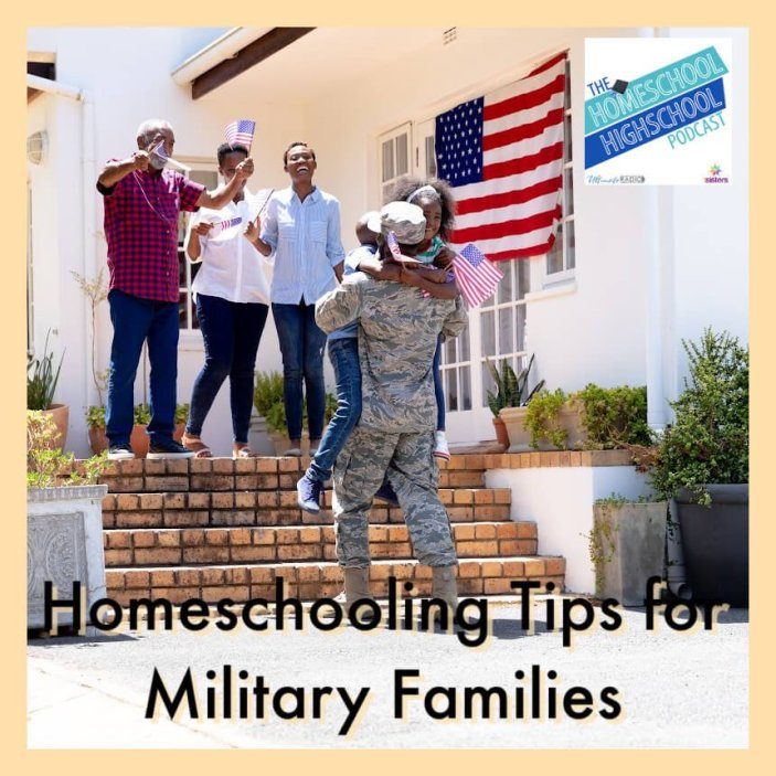 Homeschooling Tips for Military Families, Interview with Nathan and Anita from Homeschool Project Podcast