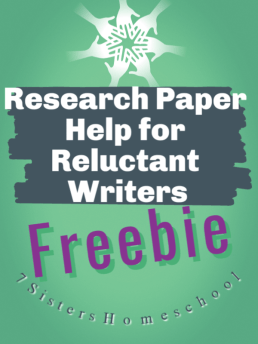 research paper help for reluctant writers