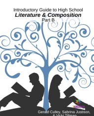 Introductory Literature and Composition Part B