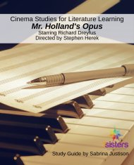 Cinema Study Guide for Mr. Holland's Opus