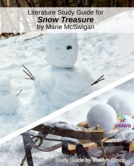 Literature Guide for Snow Treasure