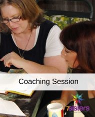coaching session with 7Sisters Homeschool