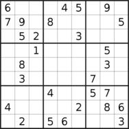 latest very difficult sudoku
