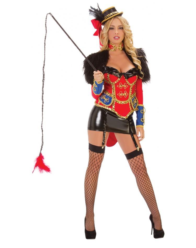 Ring Leader lion tamer costume