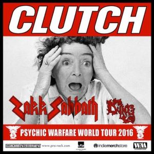 clutch fall 2016 tour poster